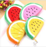 Wholesale Watermelon Coin Purse Pocket Wallet Pouch Bag Case Pendant Purse Bag Case BAG Wallet Handbag Wallet for Women Xmas New Small Gifts