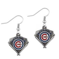 Wholesale High Quality Chicago Cubs Popular Triangle Drip Earrings Jewelry Fashion Drop Earring Accessories