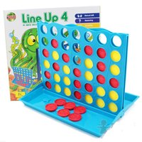 Wholesale Connect Four Line up chess game x26 x27 cm Boxed Interactive intelligence board game for family kids toy