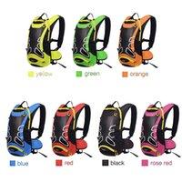Wholesale 12L Waterproof Cycling Backpack Rucksack Hydration Pack Helmet Water Bladder Bag