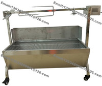 bbq pig roast - cm Lamb Pig Goat Charcoal Barbeque BBQ Grill Rotisserie Spit Raclette Hog Roasting Machine with kg Electric Motor