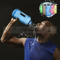 Wholesale NEW Portable L Big Large Capacity Gym Sports Water Bottle Outdoor Picnic Bicycle Bike Camping Cycling Kettle M329