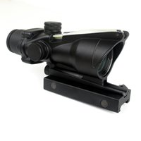 Wholesale Timberwolf ACOG Style X32 RifleScope with Green Optics Fiber and QD Mount