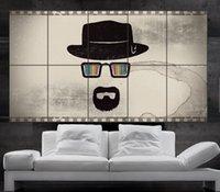 Breaking Bad cartel de la pared del arte del cuadro de Heisenberg Jesse Pinkman Skyler Gus Walter White Saul 10parts NO2-238 libre del envío