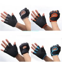 Wholesale Fitness Gym Gloves Weightlifting Dumbbells Pesas Body Building Non Slip Resistant Weight Lifting Gym Gloves L253