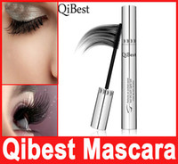 aluminum tube stock - Makeup QIBEST D MASCARA Aluminum Tube Waterproof Lengthening Cruling Thick Bees Wax Mascaras Women False Eye Lashes Make Up Bushy In Stock