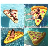 beach air mattress - Adults Kids Inflatable Swimming Floating Air Mattress Summer Water Toy Float M Pizza Ride on Floats Swim Ring Water Boat Kickboard Beach
