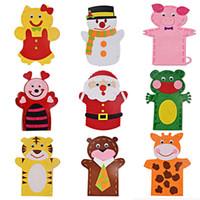 baby hand gloves - DIY Warm Baby Mittens Winter Gloves Boys Girls Winter Cartoon Thicken Newborn Christmas Satin Kids Hand Gloves Toys and Gifts D101