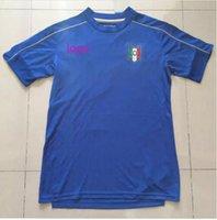 Wholesale 2016 Thai version of the Italian football jersey camisetas DE Lima theo football pirlo El Shaarawy votes Verratti Italy jersey football shir