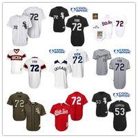al por mayor retroceso red sox-2016 jersey de béisbol cosido Chicago White Sox Béisbol Jerseys 1985 1993 Rojo 1990 Remanente 72 Carlton Fisk 53 Melky Cabrera 49 Chris Sale