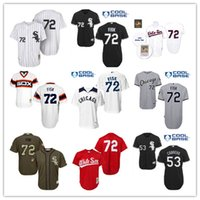 Wholesale 2016 stitched baseball jersey Chicago White Sox Baseball Jerseys Red Throwback Carlton Fisk Melky Cabrera Chris Sale