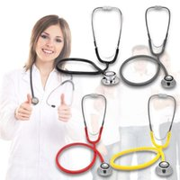 Wholesale Portable Dual Head EMT Clinical Stethoscope High Quality Double Head Stethoscope Doctor s Necessary Medical Auscultation Device S307