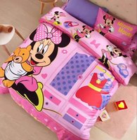 bedding chest - The chest Of Minnie Kids Bedding Sets Children Bedding Warm Home Textiles Duvet Cover Sets Twin Queen Size Pieces Bedding Sets