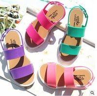 Wholesale 2016 summer new jelly sandals child Europe trade of the original single children s shoes PVC green tide shoes