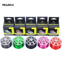 Wholesale Risk Road Bike Colorful Aluminum Ally Built in Dual Headset Bearings mm Road Bicycle Accessories Gift Package