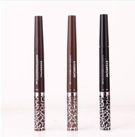 apply natural makeup - Music Flower Auto slim Eyebrow pencils kit Pencil Gel eyeliner Fantasy and Easy Apply name brand loryal schuing brow pen makeup