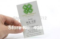 art printing services - Custom design gsm gloss art paper cheap business cards printing service