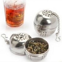 Wholesale New Arrivals Tea Infuser Filter Mesh Ball Strainer CookingTools Stainless Steel Size cheap sale high quality nice gift