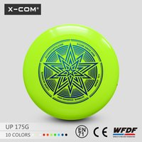 Wholesale funny outdoor indoor sports goods WFDF standard custom logo printing g professional ultimate frisbee disc