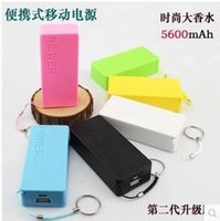 Wholesale Power Bank Portable mAh Cylinder PowerBank External Backup Battery Charger Emergency portable Power bank Chargers universally