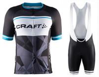 bib craft - 2016 Craft Cycling Clothing Cycle Clothes Racing Bicycle Wear Ropa Ciclismo MTB Bike Wear maillot Cycling Jerseys GEL pad bib pants