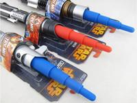 Wholesale star wars laser sword retractable classic toy for kids cosplay Darth Vader Skywalker Lightsaber sword weapons Plastic Cosplay