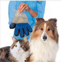 Wholesale Amazing Deshedding Glove Tool Pet Grooming for Remove Cat Dog Dirt Hair Dander Five Finger Deshedding Glove