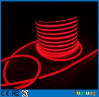 RGB Public Places 1 year 50M 220V RGB LED Neon Flex 5050 SMD 14*26MM Neon Rope Full Color Changing IP67 Decoration Neon Lighting Sign Remote Controller