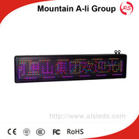 Wholesale Shenzhen Mountain A Li Group Factory Sale P10mm Colorfull LED Display Sign Letter Message Scrolling LED Screen Board Advertising LED Board