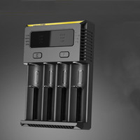 Wholesale Original New I2 I4 Nitecore New i2 Battery Charger with LED Display Charging for etc