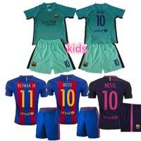 barcelona t shirts - 2016 camiseta messi neymar jr Reals top thai jersey survetement maillot de t shirt barcelona Kids