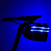 Wholesale The New Cycling USB charging bicycle tailUnisex Cycling package with LED zipper LED lamp with light