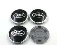 Wholesale 20pcs High quality mm ABS Aluminum Wheel Center Caps Cover Emblem For RANGE ROVER LAND ROVERLR2 LR3 LR4 Sport inch
