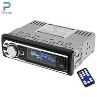 Wholesale car dvd Car Radio V Auto Audio Stereo FM SD MP3 Player AUX USB SD In Dash DIN Car Electronics Subwoofer with Remote Control