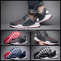 band socks - 2016 Premiun Sock Dart Fragment x Mens Running Shoes Black Blue High Quality Sport Shoes Trainers Outdoor Athletic Sneakers Eur