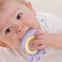 animal shaped massager - Hot Sale Safely Silicone Baby Teether Toys Training Tooth Cute Toddler Molar Toothbrush Animal Shape Infant Teethers Massager VT0246