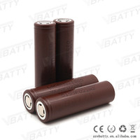 Wholesale 100 Genuine lghg2 mah a battery cell v hg2 batteries hottest hg2 mah cell