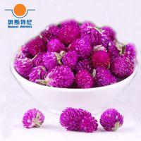 amaranth flowers - organic China herb tea dried Gomphrena globosa flower tea dried Globe Amaranth tea