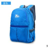 Wholesale Han edition skin waterproof and lightweight backpacking trip foldable backpack mountaineering outdoor light package bag