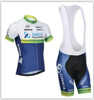 Cheap 2016 Tour De France Orica Scott cycling jersey&shorts Bike Wear Quick Dry Bicycle Clothing Size XS-4XL Cycling Jerseys