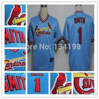 baby cardinals - 2015 New Ozzie Smith Jersey Baby Blue St Louis Cardinals Jerseys