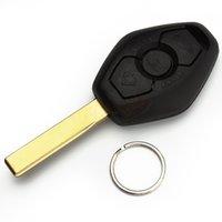 Wholesale Replacement button Remote Car Key Blank Key Case Shell Cover for BMW X3 X5 E53 E46 E39 E60 Z4 Uncut HA10268