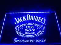 SMD 3528 bar restaurant - LE048 B Daniels Old No Bar Beer Neon Light Sign LED sign