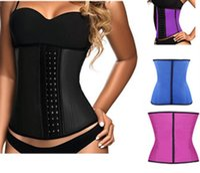 Wholesale Women Rubber corset Waist Training Belt shapwear Underbust Cincher Latex Bustier Body Shaper Corset Shapewear XS XL Colors