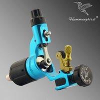 aluminum motors - Original BLUE Hummingbird Rotary Tattoo Machines with Swiss motor