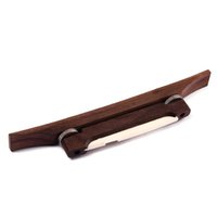 Wholesale quot Rosewood Archtop Guitar Bridge Bone Saddle Luthier Jazz Guitar Mandolin Part