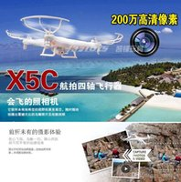 Wholesale 2015 SYMA X5C Upgraded Version X5C RC Quadcopter G CH Axis FPV Drone With MP Camera Mini DJI Phantom UFO Hexcopter