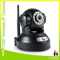 Wholesale H Free Ship P2P IP Camera P HD Wifi Wireless Baby Monitor PTZ Security Camera ONVIF Cloud Night Vision Micro SD Card Wi fi