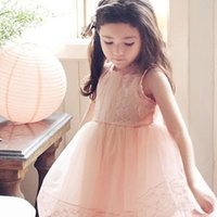 best korean - 2016 Korean Style Summer Children Girls Princess Party Dress Best Designed Beautiful Material High Quality New Arrival