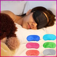 Wholesale Hot Sales Sleep Mask Eye Mask Shade Nap Cover Blindfold Sleeping Sleep Travel Rest Fashion Black Colors